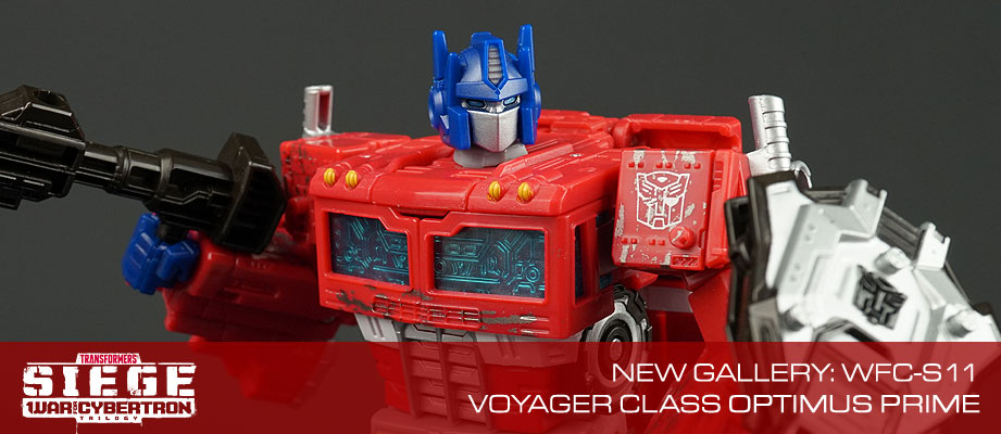 New Gallery: War for Cybertron: SIEGE Voyager Class Optimus Prime