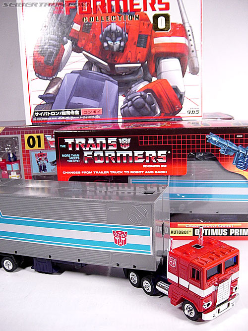 Transformers G1 1984 Optimus Prime (Convoy)  (Reissue) (Image #1 of 83)