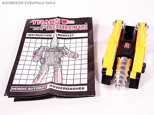 Transformers G1 1984 Powerdasher (Drill Type) (Image #3 of 45)
