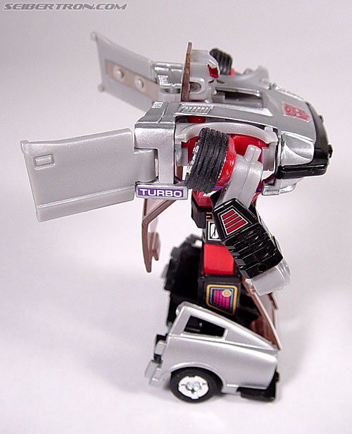 Transformers G1 1984 Bluestreak (Silverstreak) (Streak)  (Reissue) (Image #28 of 49)