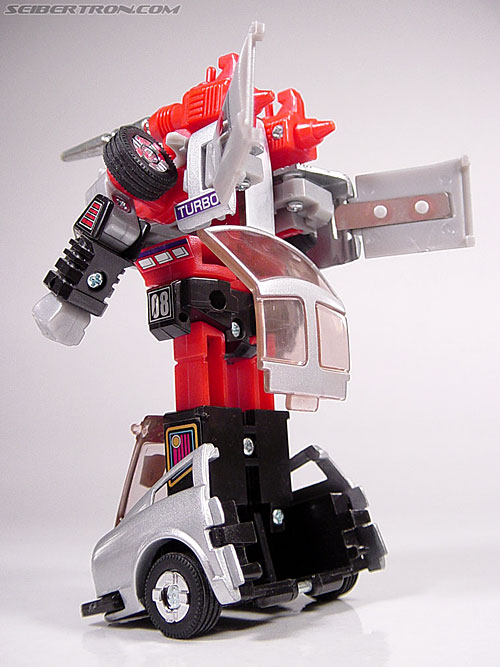 Transformers G1 1984 Bluestreak (Silverstreak) (Streak)  (Reissue) (Image #32 of 49)