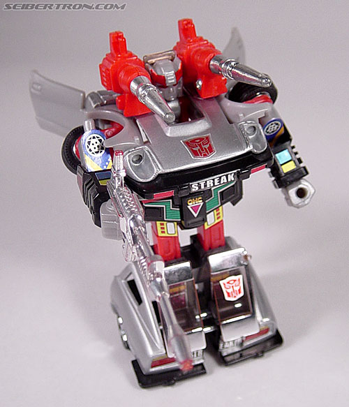 Transformers G1 1984 Bluestreak (Silverstreak) (Streak)  (Reissue) (Image #40 of 49)