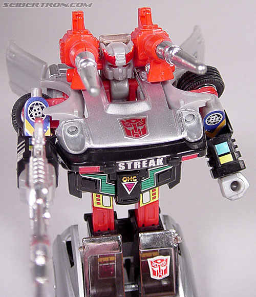 Transformers G1 1984 Bluestreak (Silverstreak) (Streak)  (Reissue) (Image #41 of 49)