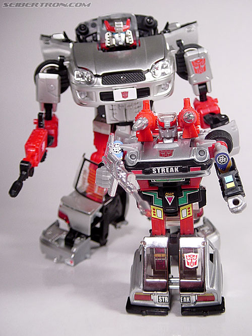 Transformers G1 1984 Bluestreak (Silverstreak) (Streak)  (Reissue) (Image #48 of 49)