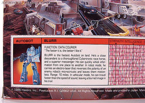 Transformers G1 1986 Blurr (Image #15 of 121)