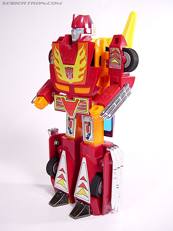 Transformers G1 1986 Hot Rod (Hot Rodimus) (Image #29 of 72)