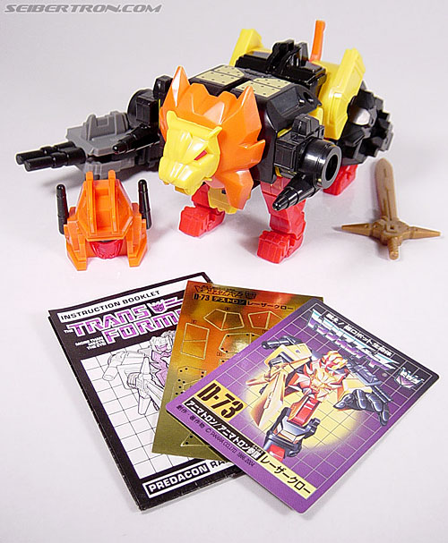 Transformers G1 1986 Razorclaw (Reissue) (Image #17 of 68)