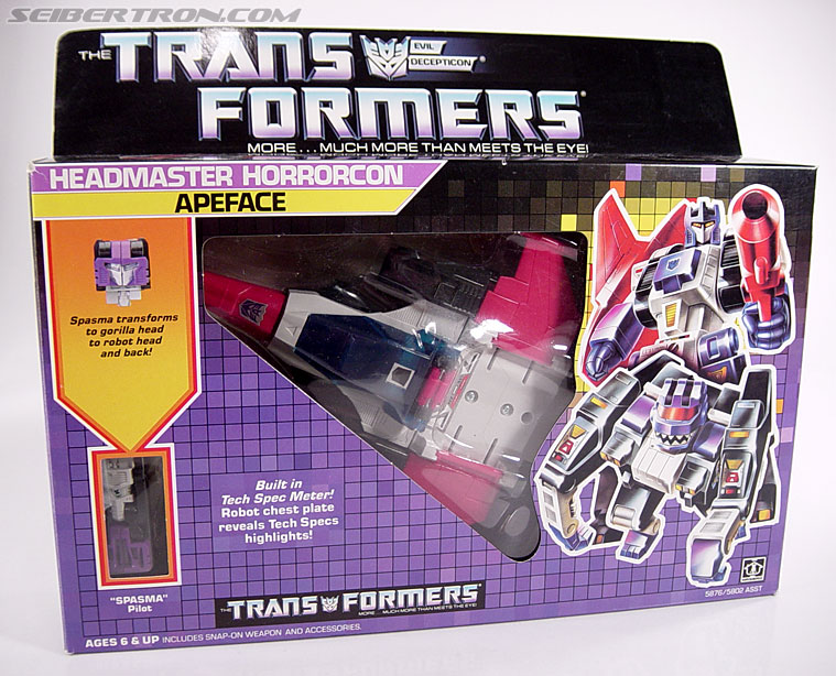 Transformers G1 1987 Apeface (Image #1 of 94)