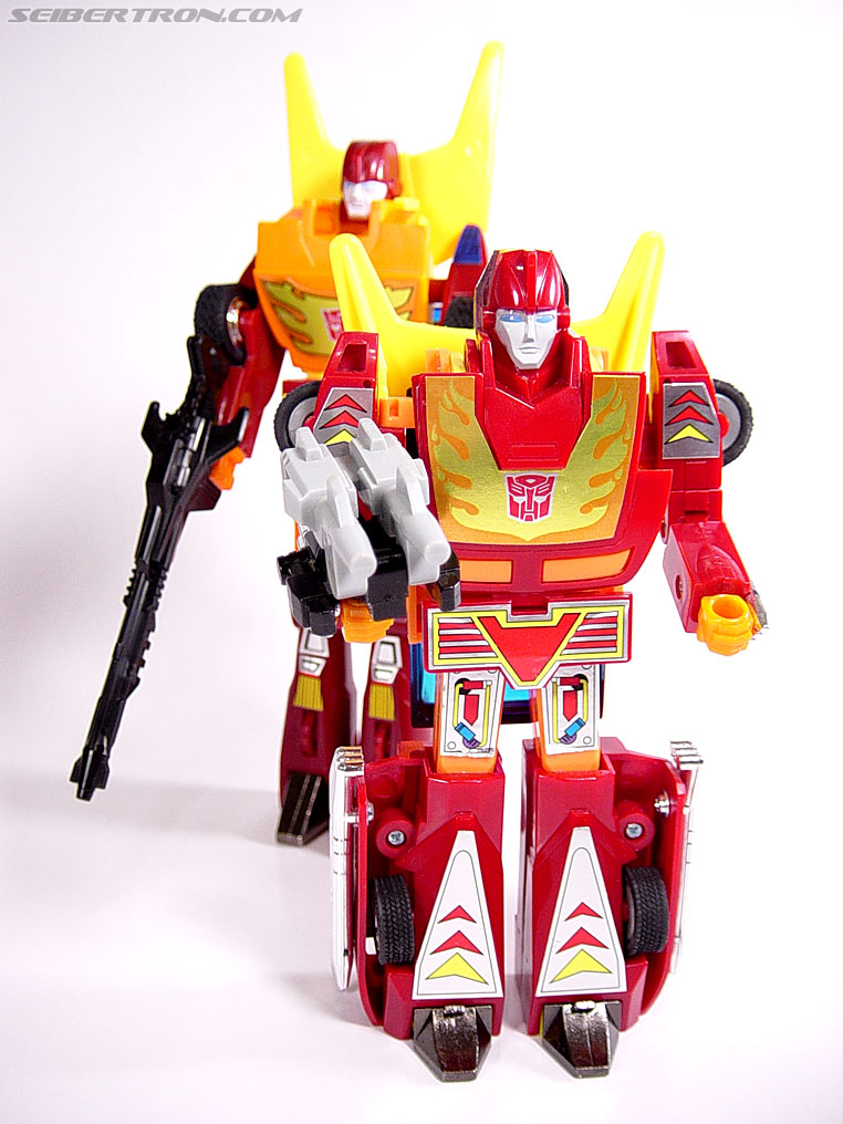 Transformers G1 1987 Hot Rod (Hot Rodimus) (Image #53 of 60)