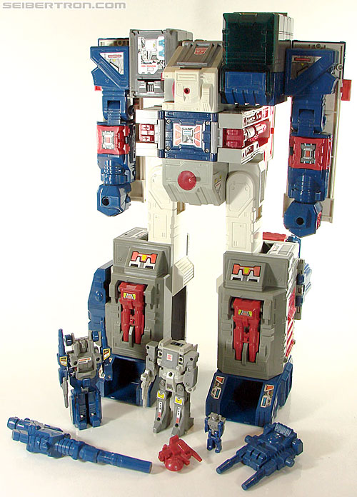 Transformers G1 1987 Cerebros (Fortress) (Image #55 of 146)