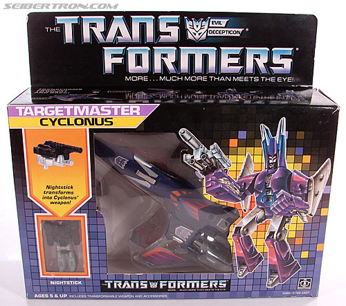 Transformers G1 1987 Cyclonus (Image #1 of 164)