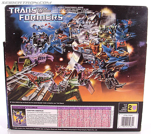 Transformers G1 1987 Cyclonus (Image #13 of 164)