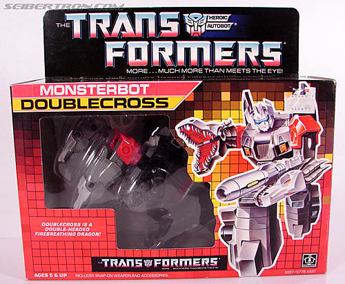 Transformers G1 1987 Doublecross (Image #1 of 80)