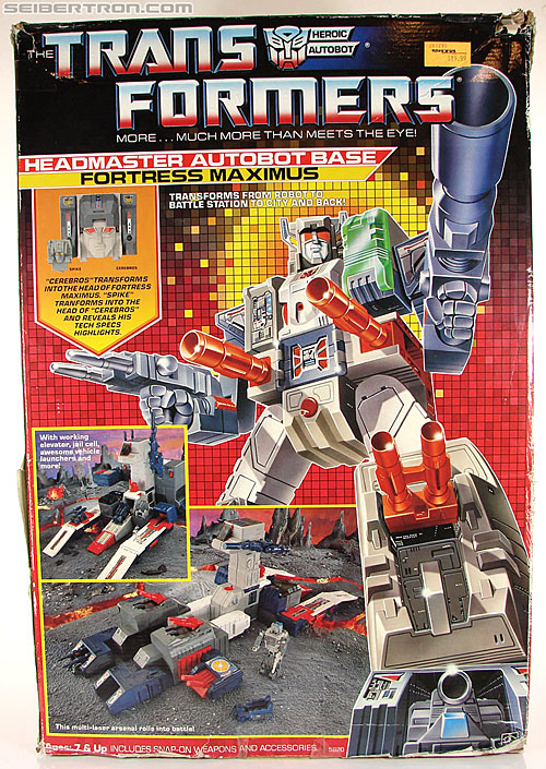 Transformers G1 1987 Fortress Maximus (Image #1 of 250)