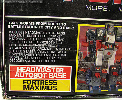 Transformers G1 1987 Fortress Maximus (Image #47 of 274)
