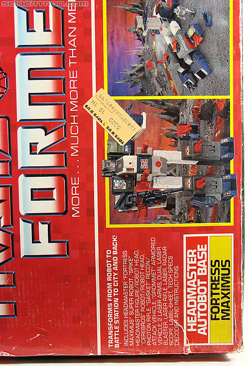 Transformers G1 1987 Fortress Maximus (Image #55 of 274)