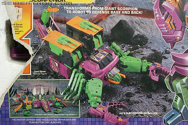Transformers G1 1987 Scorponok (Megazarak) (Image #6 of 259)