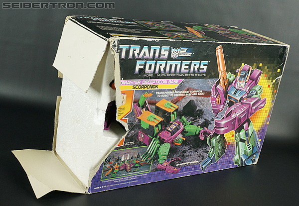 Transformers G1 1987 Scorponok (Megazarak) (Image #12 of 259)