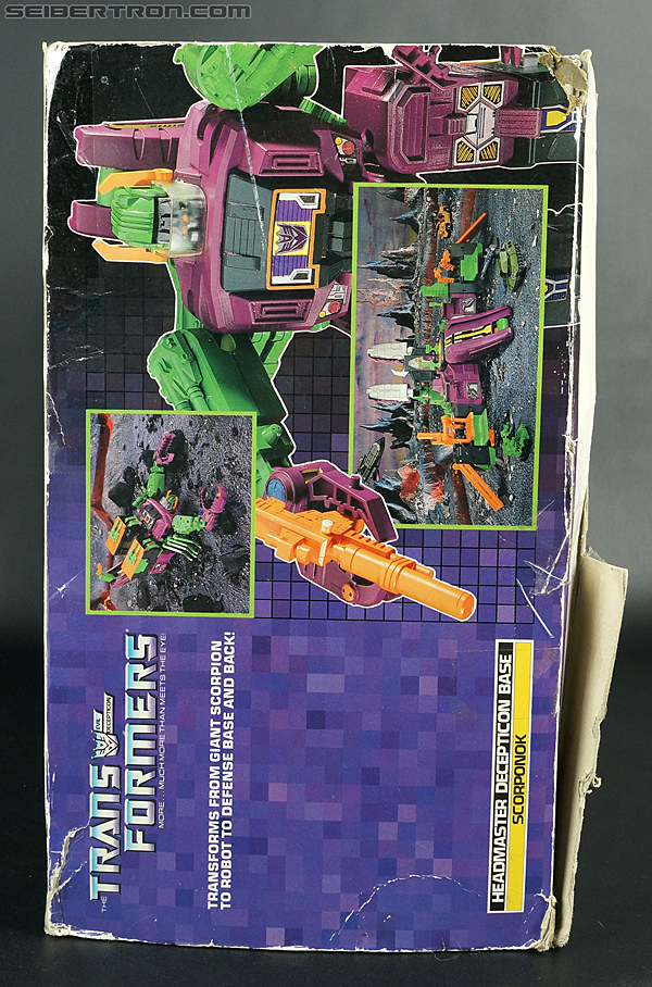 Transformers G1 1987 Scorponok (Megazarak) (Image #26 of 259)