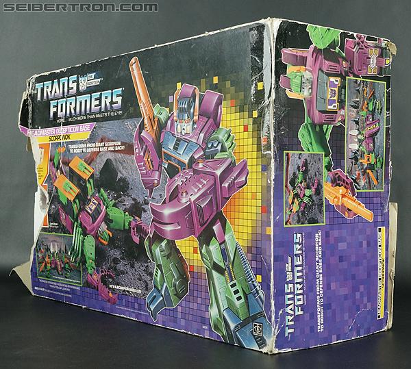 Transformers G1 1987 Scorponok (Megazarak) (Image #32 of 259)