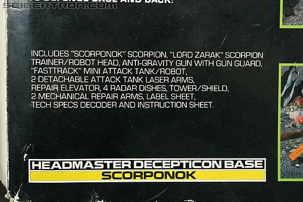 Transformers G1 1987 Scorponok (Megazarak) (Image #37 of 259)
