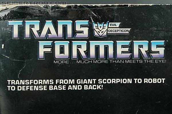 Transformers G1 1987 Scorponok (Megazarak) (Image #38 of 259)