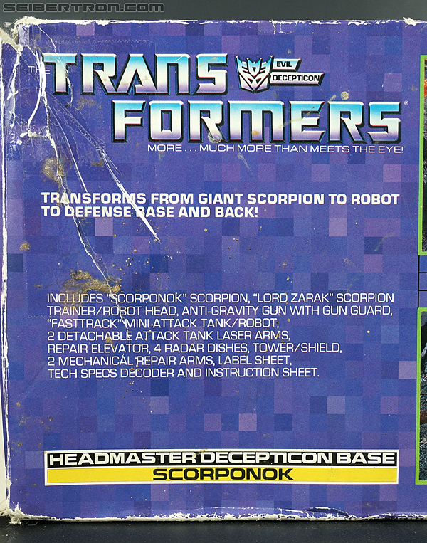 Transformers G1 1987 Scorponok (Megazarak) (Image #42 of 259)