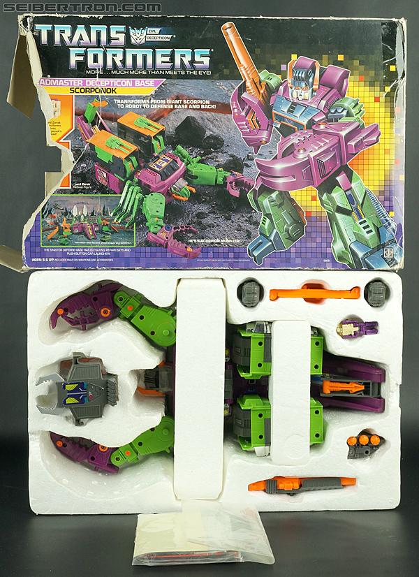Transformers G1 1987 Scorponok (Megazarak) (Image #53 of 259)