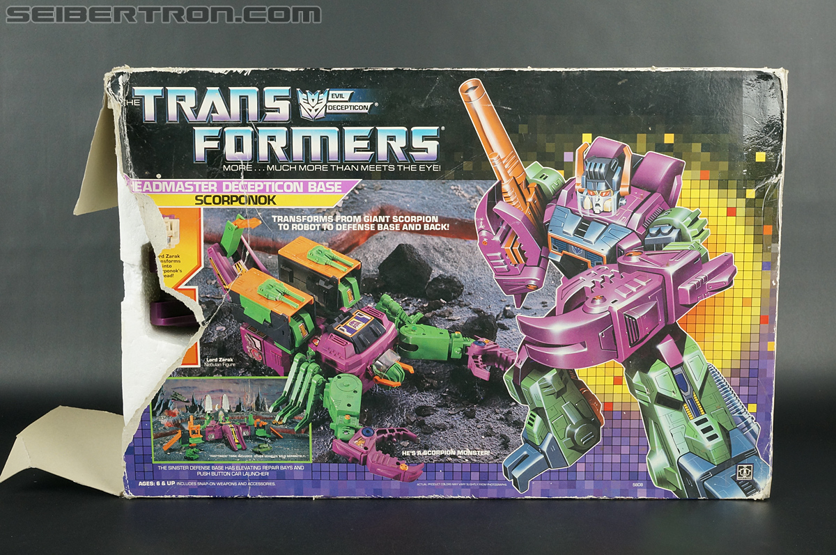 Transformers G1 1987 Scorponok (Megazarak) (Image #1 of 259)