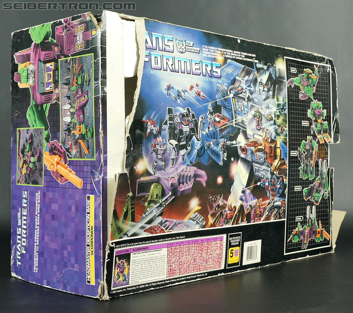 Transformers G1 1987 Scorponok (Megazarak) (Image #25 of 259)