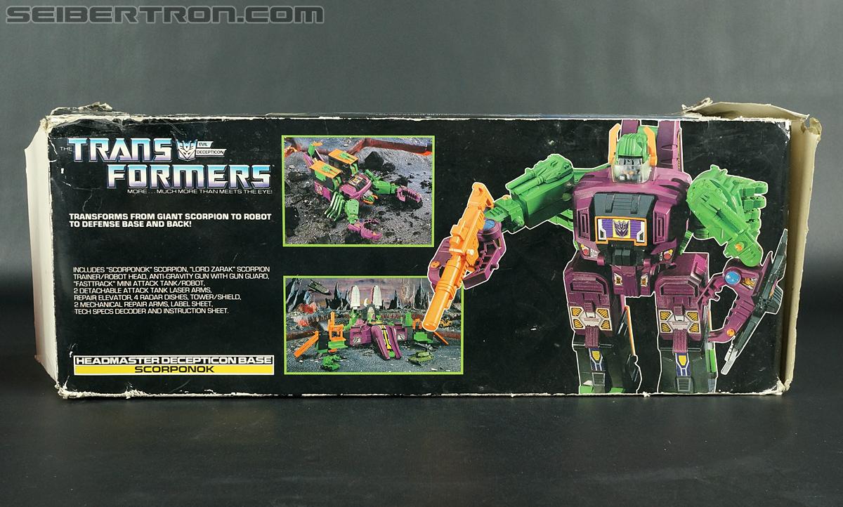 Transformers G1 1987 Scorponok (Megazarak) (Image #34 of 259)
