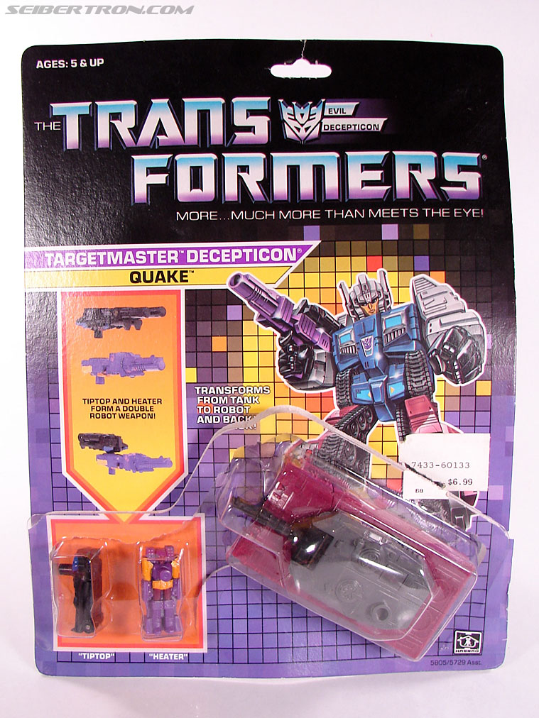 Transformers G1 1988 Quake (Image #1 of 72)