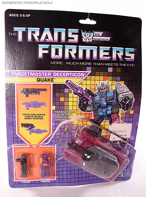 Transformers G1 1988 Quake (Image #2 of 72)