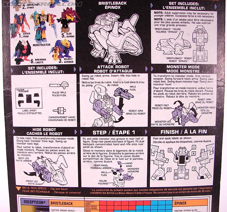 Transformers G1 1989 Bristleback (Image #6 of 72)