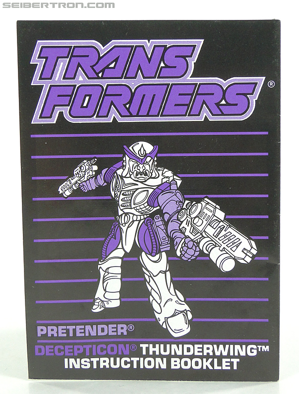 Transformers G1 1989 Thunderwing (Black Shadow) (Image #6 of 193)