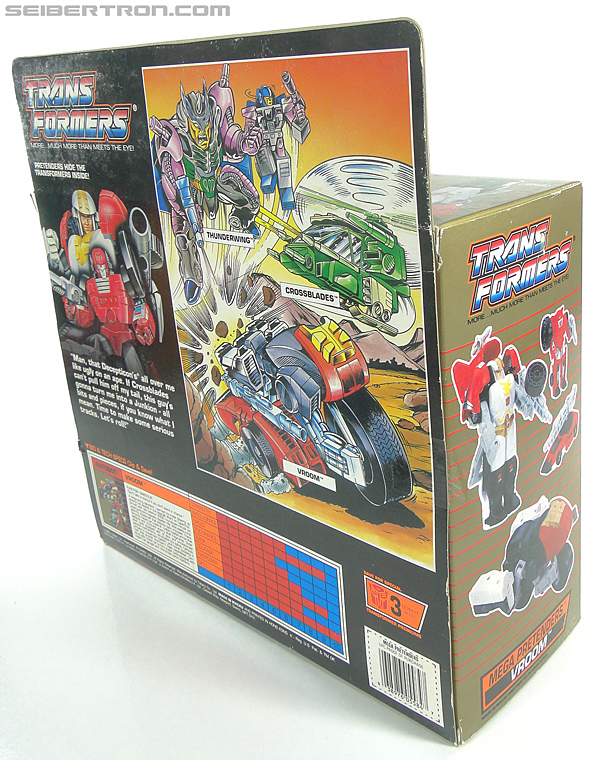 Transformers G1 1989 Vroom (Image #11 of 219)