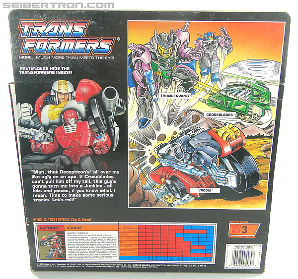 Transformers G1 1989 Vroom (Image #12 of 219)