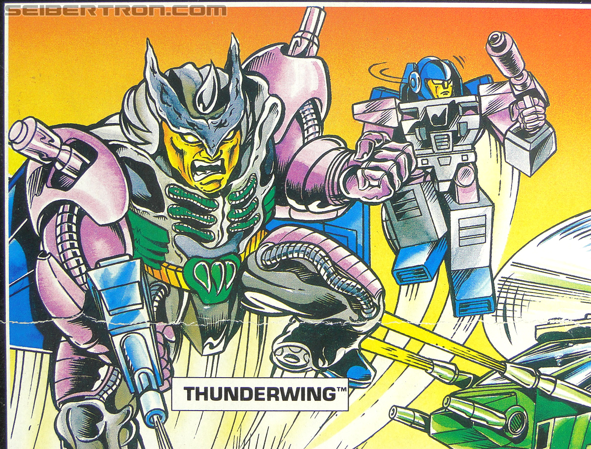 Transformers G1 1989 Thunderwing (Black Shadow) (Image #1 of 193)