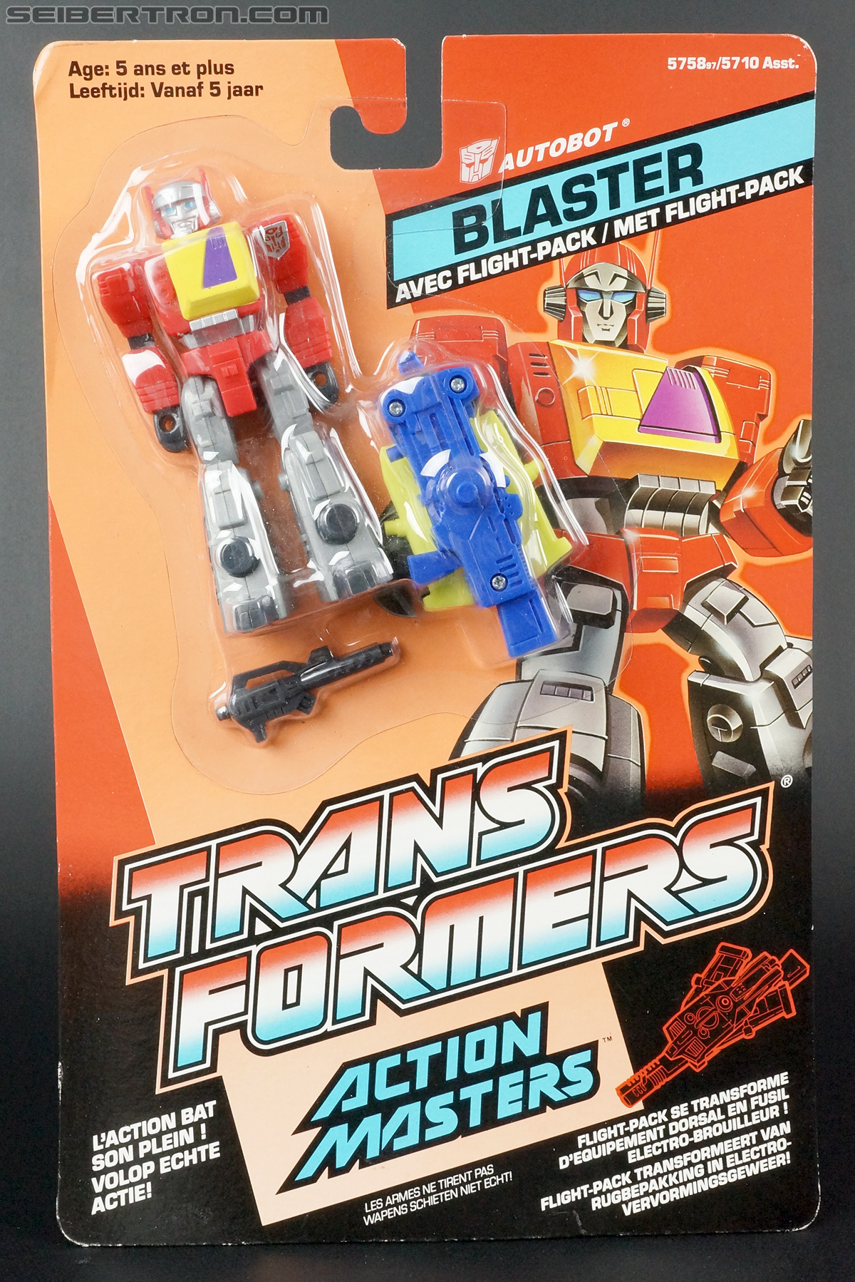 Transformers G1 1990 Blaster with Flight Pack (Image #1 of 124)