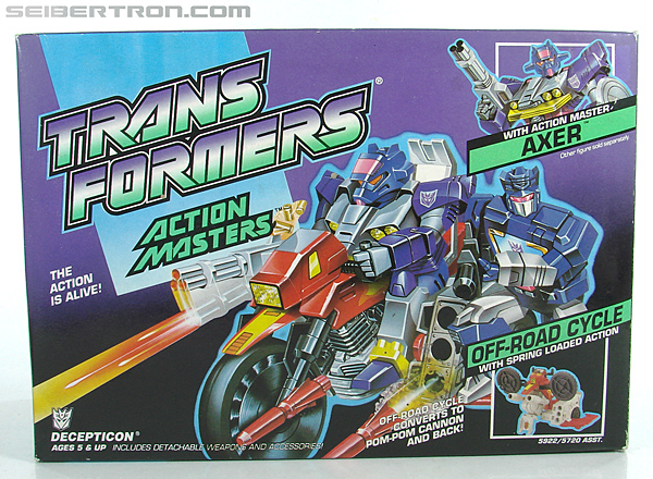 Transformers G1 1990 Axer with Off Road Cycle (Image #1 of 162)