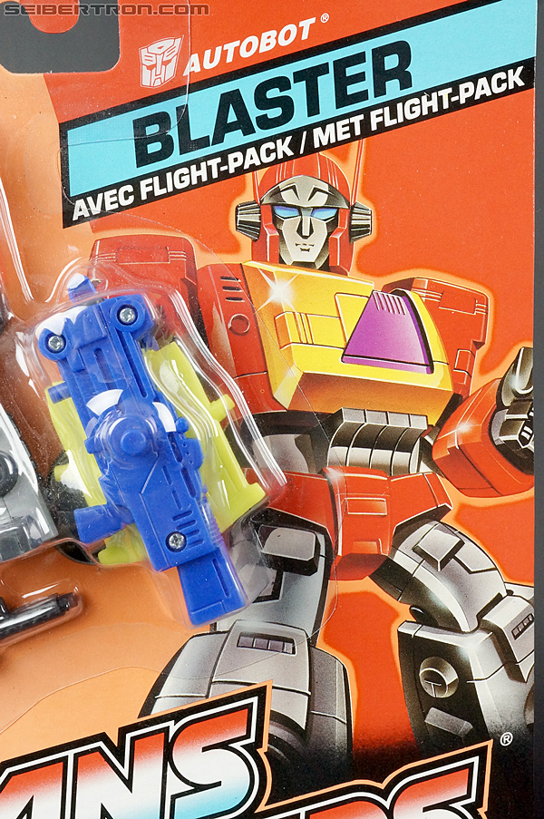 Transformers G1 1990 Blaster with Flight Pack (Image #2 of 124)