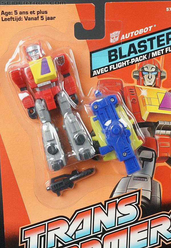 Transformers G1 1990 Blaster with Flight Pack (Image #7 of 124)