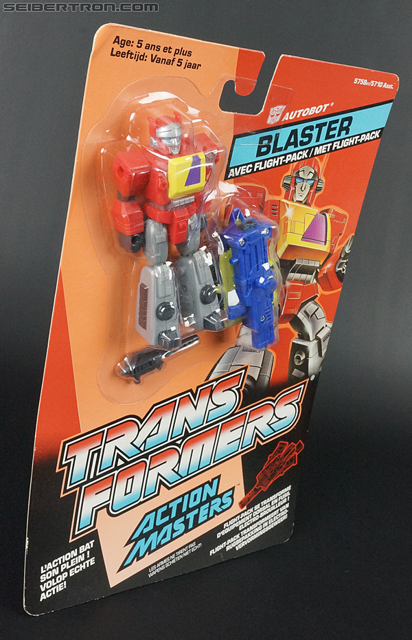Transformers G1 1990 Blaster with Flight Pack (Image #8 of 124)