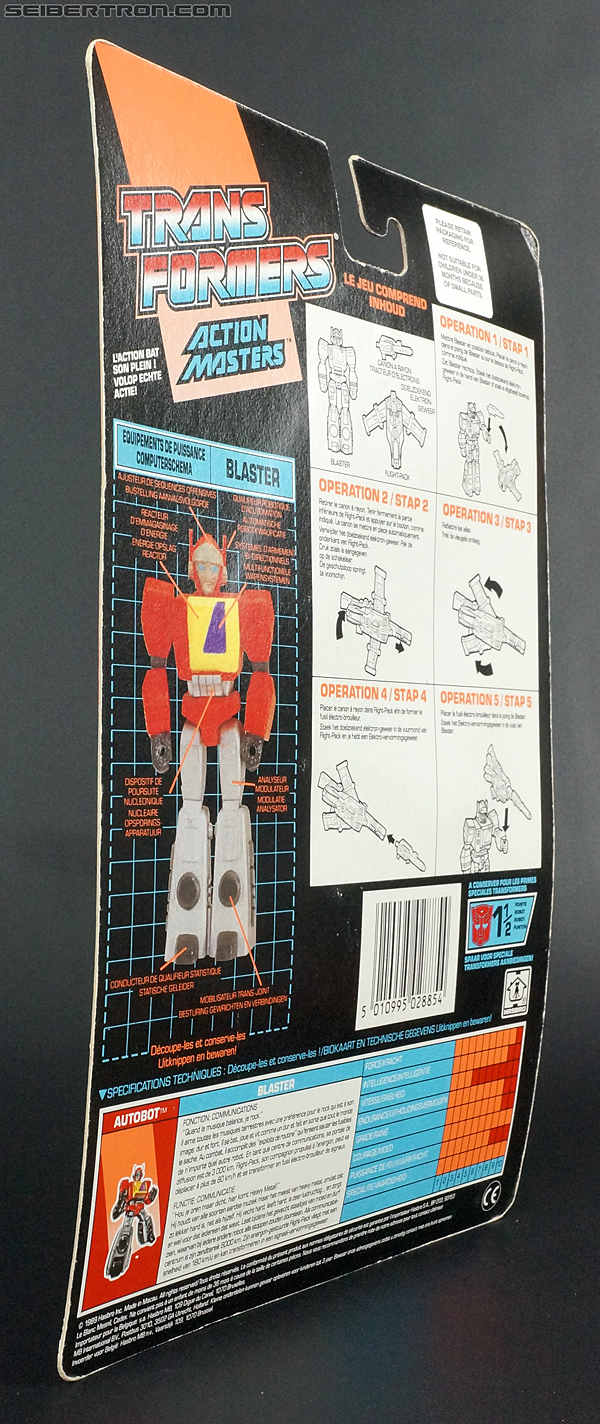 Transformers G1 1990 Blaster with Flight Pack (Image #15 of 124)