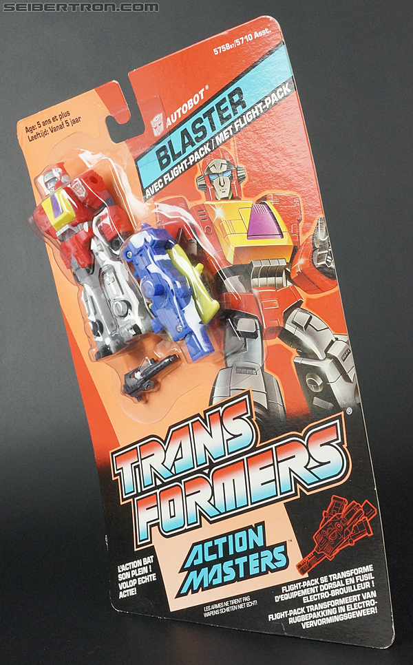 Transformers G1 1990 Blaster with Flight Pack (Image #16 of 124)