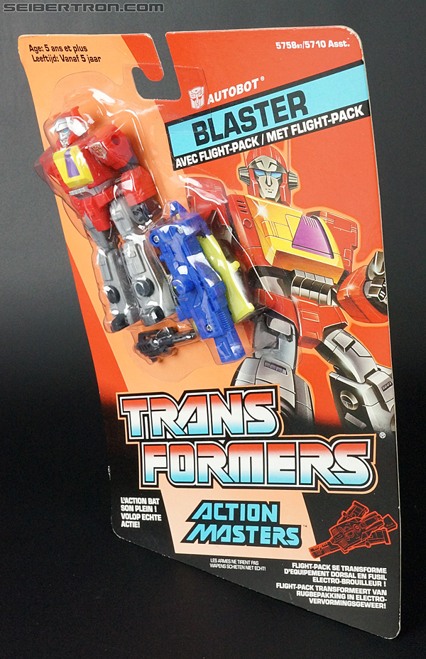 Transformers G1 1990 Blaster with Flight Pack (Image #17 of 124)