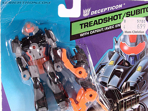 Transformers G1 1990 Treadshot with Catgut (Image #6 of 86)