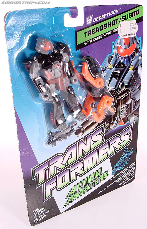 Transformers G1 1990 Treadshot with Catgut (Image #8 of 86)