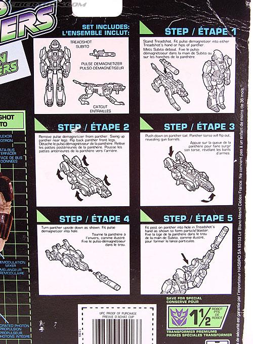 Transformers G1 1990 Treadshot with Catgut (Image #12 of 86)