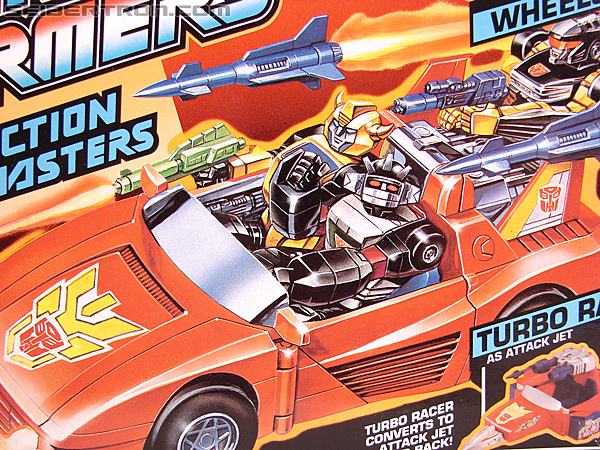 Transformers G1 1990 Wheeljack with Turbo Racer (Image #2 of 178)